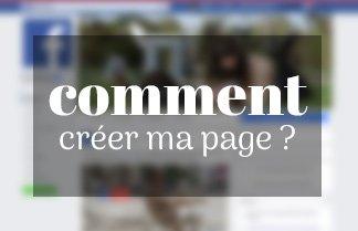 Créer une page facebook pour mon entreprise